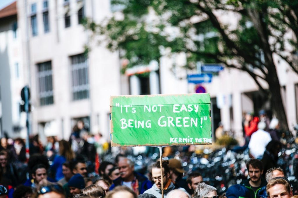 being green rally